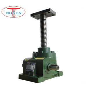 Best Price on for Mechanical Screw Jack 10 Ton Worm gear machine screw jack lift export to Japan Factories