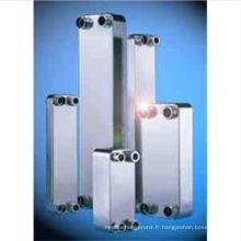 Échangeur de chaleur à plaques brasées en acier inoxydable 304/316
