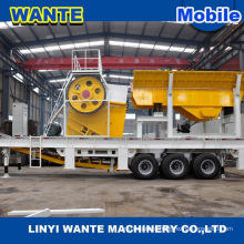 2015 High quality Small Mobile Jaw Crusher, Stone Cutting Machine