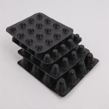 Пластиковая дренажная доска HDPE с ямочками