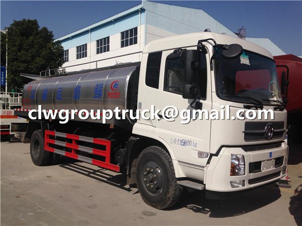 Dongfeng Tianjin Milk Tanker