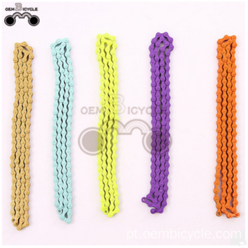 cheap price bicycle Multi-color chain for fixed gear bike sale