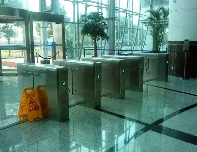 Flap Wing Turnstiles