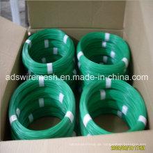Qualität PVC überzogener Draht / PVC beschichtete Eisen-Draht / PVC beschichtete Gi-Draht mit konkurrenzfähigem Preis
