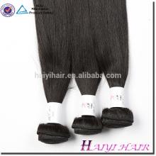 Pacotes retos de seda do cabelo humano da extensão 100