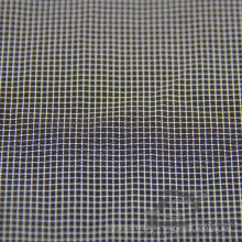 Water & Wind-Resistant Down Jacket Tejido Dobby Plaid Jacquard 26,5% Poliéster 73,5% Nylon Blend-Tejido Intertexture Tejido (H018)