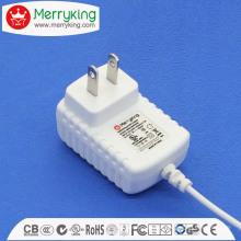 12W Netzteil DOE VI DC Adapter mit allen Zertifizierungen