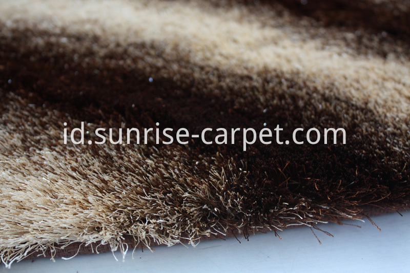 Silk Shaggy with Gradation Color Design