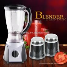2 velocidades 1.5L PS ou PC Jar 3 em 1 alta qualidade Electric Fruit Blender