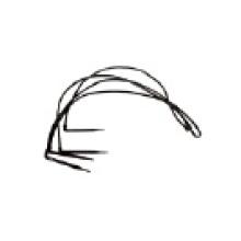 Hohe Qualität vier Branchen Bend Arrow Dripper