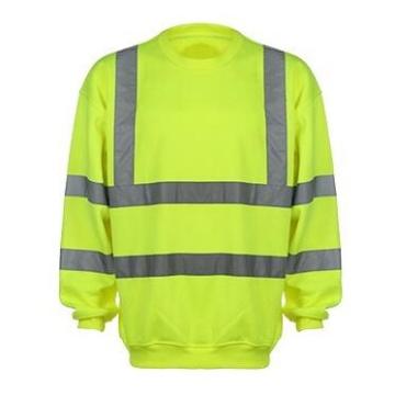 2017 Long Sleeve Reflective Safety T-Shirt Round Neck