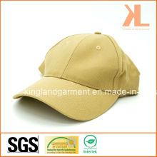 Perceuse en coton Armée / Militaire Khaki Beige Plain Baseball Cap
