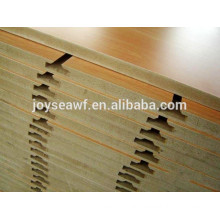4'x8' Cheap price Slotting MDF/HDF