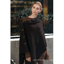 promotion women fashion poncho with high quality
