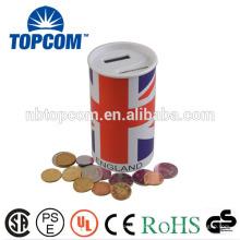 Caja de dinero digital de cartón