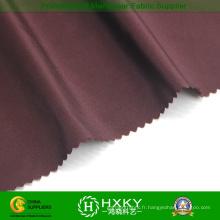 75D fibre lustrée avec tissu à armure sergé Polyester Semi mémoire pour Bomber Jacket