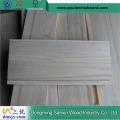 Natürliche Farbe gerillt Paulownia Panel für Schubladen Seiten