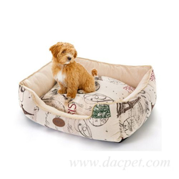 ultra comfortable plush pet printed sofa