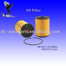 Elemento filtrante de aceite lubricante 021 115 562A