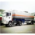 52cbm 3 axle lpg tanker trailer fuel tank liquid semi trailer oil tank semi trailer