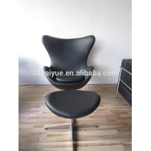 2107 design bonito cadeira de lazer mordern Clássico Design Egg Cadeira Venda Fazer Na Fábrica de Foshan
