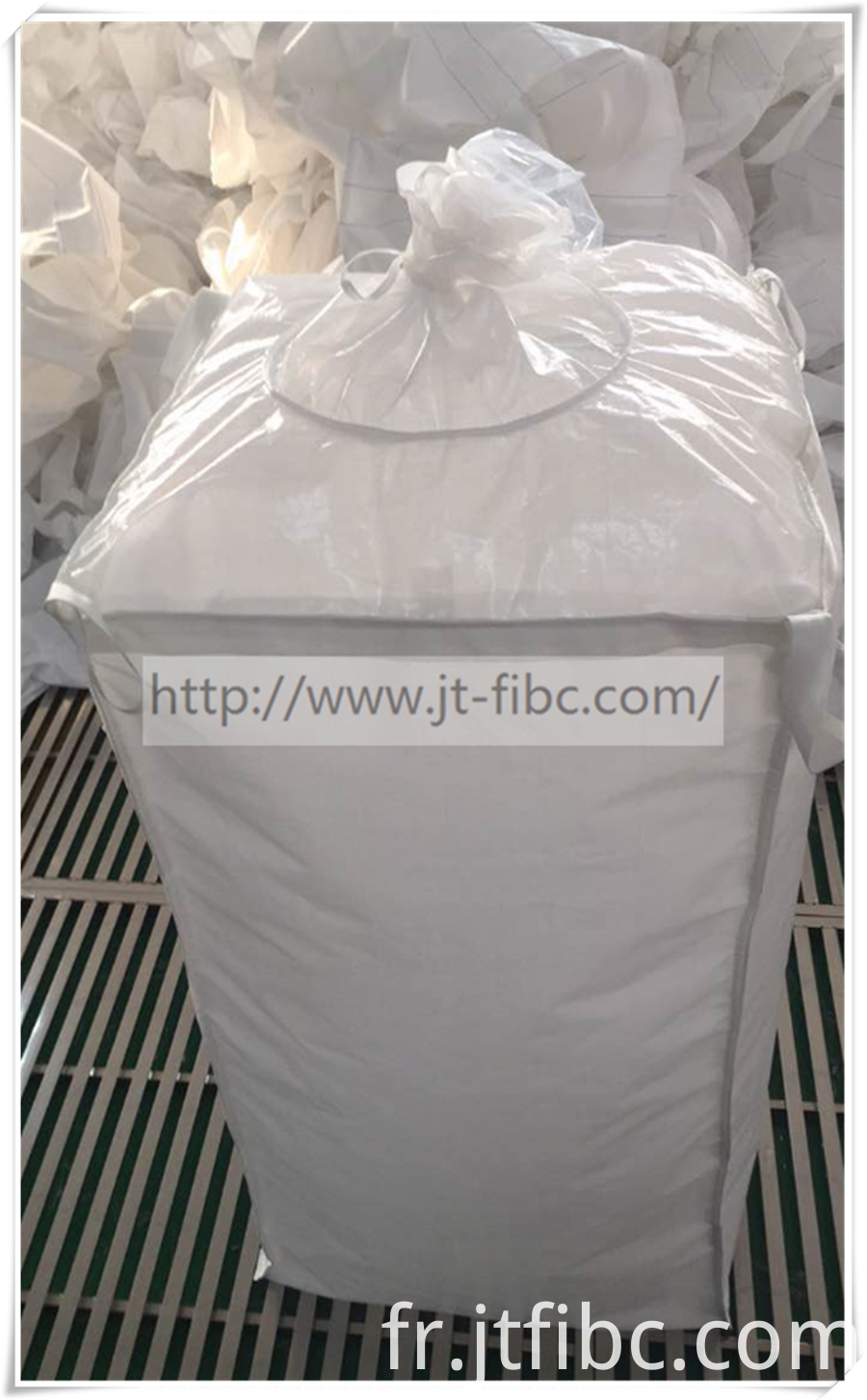 White One Ton Bulk Bags