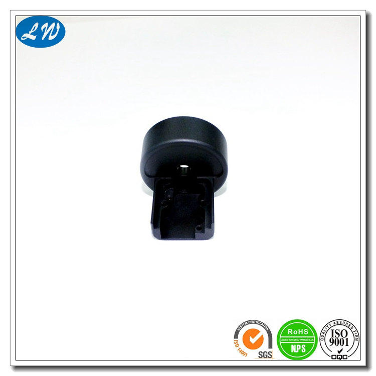Black Anodized Small Part