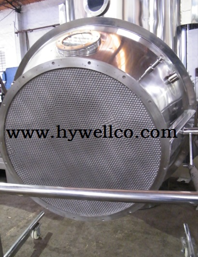 Vertical Fluid Bed Drying Machine