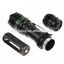china alibaba USA Zoomable 500 Lumen Tactical LED Flashlight Torch XM-L T6+18650+Charger
