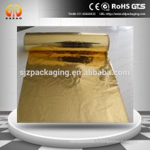 12-микронная золотая майларовая пленка