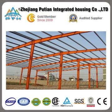 2015 Pth económica estructura de acero personalizada Almacén