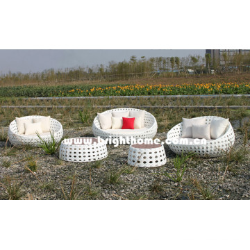 Bubble Weaving PE Rattan Wicker Outdoor Furniture Bg-807