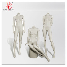 Headless mannequins group for woman color white