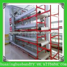 Equipamentos automáticos de produção de aves de capoeira, gaiolas de bateria para aves de capoeira