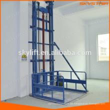 Elevador de paletas elevadoras con plataforma industrial