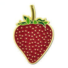 Strawberry Fruit Summer Enamel Revers Pin