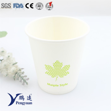 Disposable Starbucks Single Wall Insulation Hot Tea Paper Cup