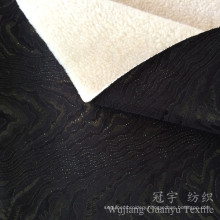 Printed Thick Suede Fabric 100% Polyester with Fleece Backing