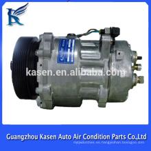 Compresor 7v16 de la sandía del ac eléctrico 12v para VW TRANSPORTER 1222 7D0820805L 7D0820805D 7D0820805J