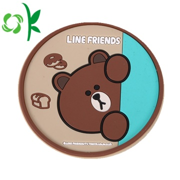 Silicone dưới uống Cup Coaster Mat cho Cup