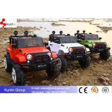 Driveable Remote Control Children Toy Jeep Cars con dos asientos