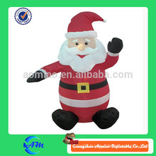 christmas decoration small inflatable santa clause for sale