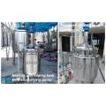 Aço inoxidável 1500L Aquecimento Elétrico Alta Qualidade Cosméticos Creme Máquina De Mistura