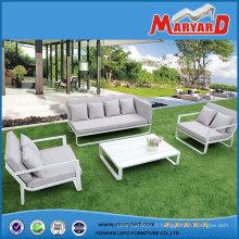 Mobilier de jardin extérieur WPC/Polywood, (4PC jardin Sofa Set)