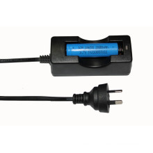 Australian Standard Cabled Charger for 18650/14500 Battery