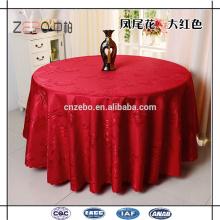 Fábrica de venda de poliéster Jacquard Lace estilo toalhas de mesa à venda