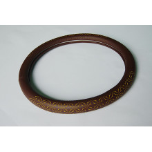 Super Fiber Laser Leather steering wheel cover