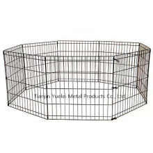 Dog Kennel Cage Fence Animal de compagnie Coffre Safe Dogs Run Box Exercise Pen Outdoor Yard