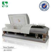 JS-ST532 direct sale steel casket