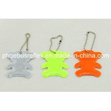 Reflective Bear Hanger/Keychain/Reflector